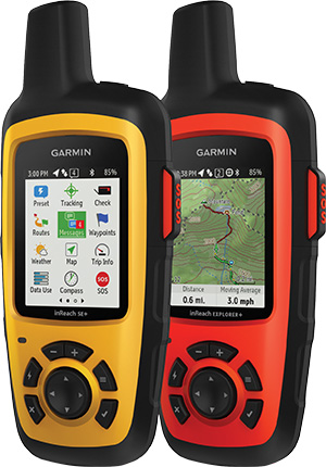 inReach Satellite Communicators