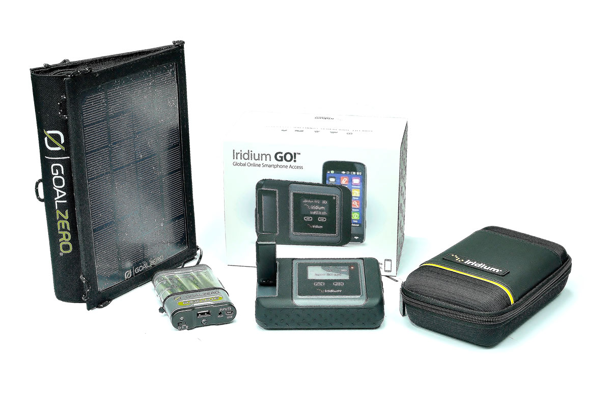 Iridium GO! On-the-Go Kit