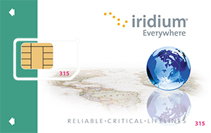 Iridium prepaid card icon