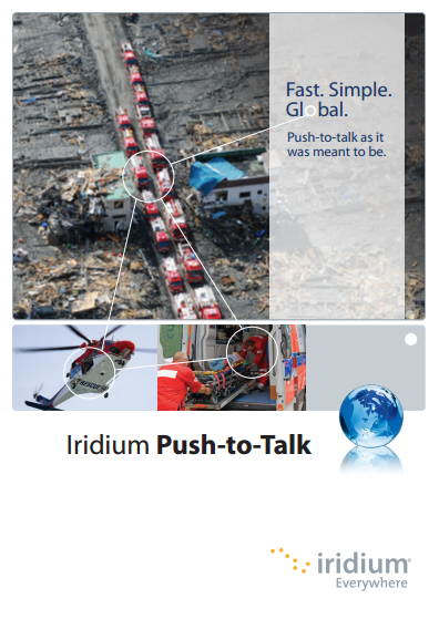 Iridium PTT brochure