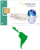 Latin America Iridium prepaid card icon