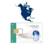 North America Iridium Prepaid Cards