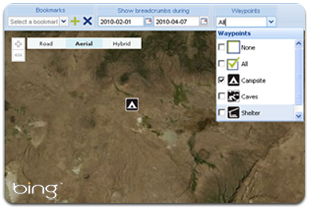 Waypoints Web Application